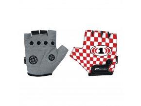 Spokey RACE GLOVE Dětské cyklistické rukavice XS-S