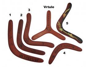 Bumerang dřevěný