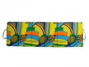 Skládací plážové molitanové lehátko Rimini-4 172x56x2 cm