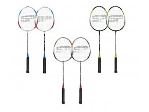 Spokey FIT ONE II Sada na badminton - 2 rakety