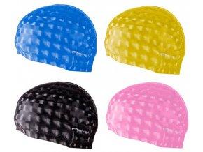 Bez názvu TORPEDO 3D Plavecká PU čepice