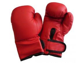 Boxerské rukavice PU kůže