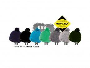 Capu 669 pánská pletená zimní čepice