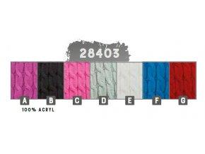 Capu 28403 dámská pletená šála