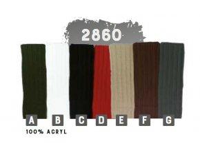 Capu 2860 pánská pletená šála