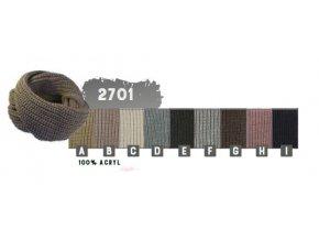 Capu 2701 dámská pletená šála