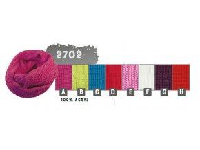 Capu 2702 dámská pletená šála