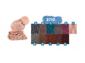 Capu 2710 dámská pletená šála