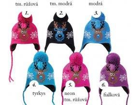 Pletex H078 Dětská pletená zimní čepice