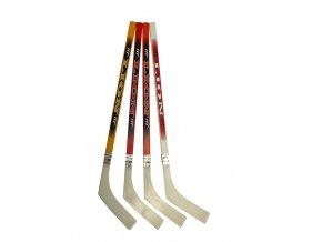 Hokejka LION mini 60 cm s plastovou čepelí - rovná