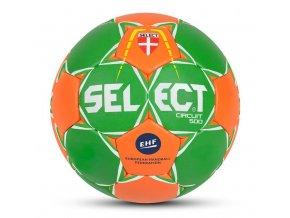 Házenkářský míč Select HB Circuit 500 zeleno oranžová