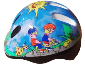 Brother dětská helma cyklistická a pro inline bruslení, CSH06