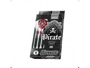 HARROWS SOFT PIRATE šipky s plastovými hroty