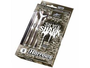 HARROWS SOFT SILVER SHARK šipky s plastovými hroty