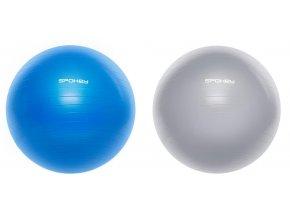 Spokey FITBALL III Gymnastický míč 75 cm včetně pumpičky