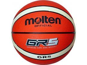 Basketbalový míč MOLTEN vel. 5 BGR5-OI