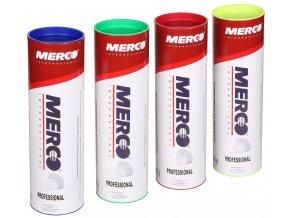 Merco Professional Badmintonové míčky