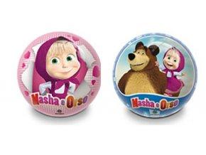Gumový potištěný míč Masha & Bear