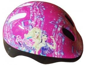 Dětská cyklistická helma Barbie