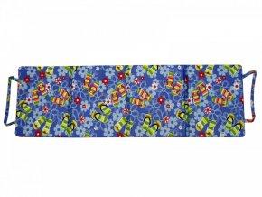 Skládací plážové molitanové lehátko Milano-9 180x54x1,5  cm