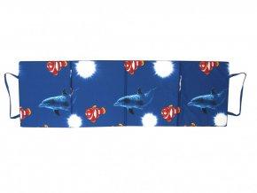 Skládací plážové molitanové lehátko Milano-10 180x54x1,5  cm