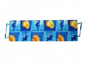 Skládací plážové molitanové lehátko Milano-2 180x54x1,5  cm
