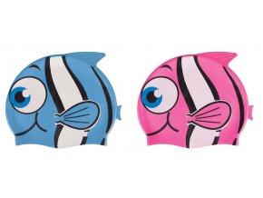 NUUI FISH Dětská plavecká čepice RYBA