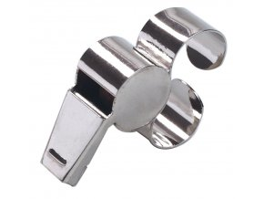 Píšťalka Select Referees whistle w/metal finger grip metal