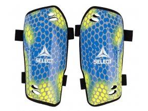 Chrániče holeně Select Shin guards Standard žluto modrá
