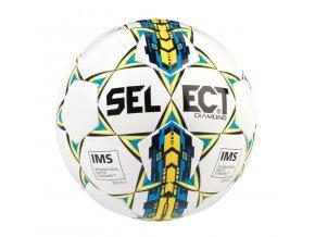 Fotbalový míč Select FB Diamond bílo modrá