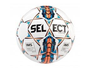 Fotbalový míč Select FB Contra bílo oranžová