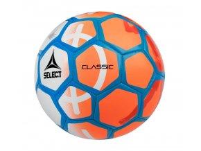 Fotbalový míč Select FB Classic bílo oranžová
