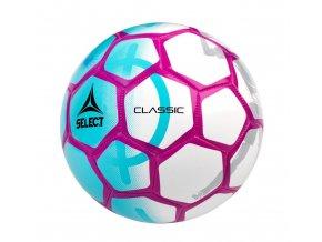 Fotbalový míč Select FB Classic bílo modrá