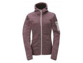 2117 of Sweden ASPEBODA dámská fleecová bunda s kapucí