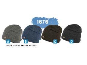 Capu 1676 pletená zimní čepice