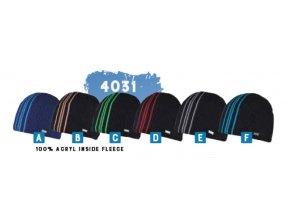 Capu 4031 pánská pletená zimní čepice