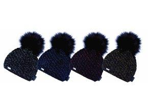 Capu 367 dámská pletená zimní čepice