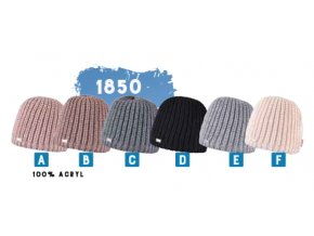 Capu 1850 dámská pletená zimní čepice