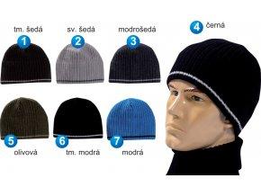 Pletex 580 pánská pletená zimní čepice