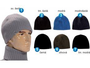 Pletex 579 pánská pletená zimní čepice