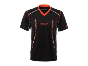 T Shirt Men Match Performance black n1