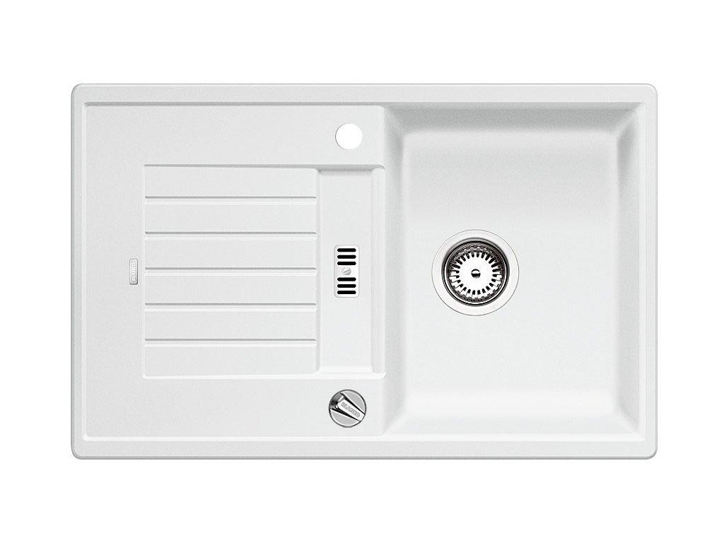 Blanco ZIA 45 S Silgranit bílá oboustranné provedení s excentrem