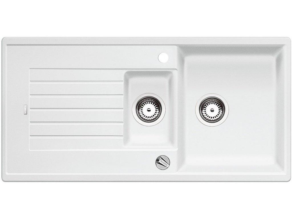 Blanco ZIA 6 S Silgranit bílá oboustranné provedení s excentrem