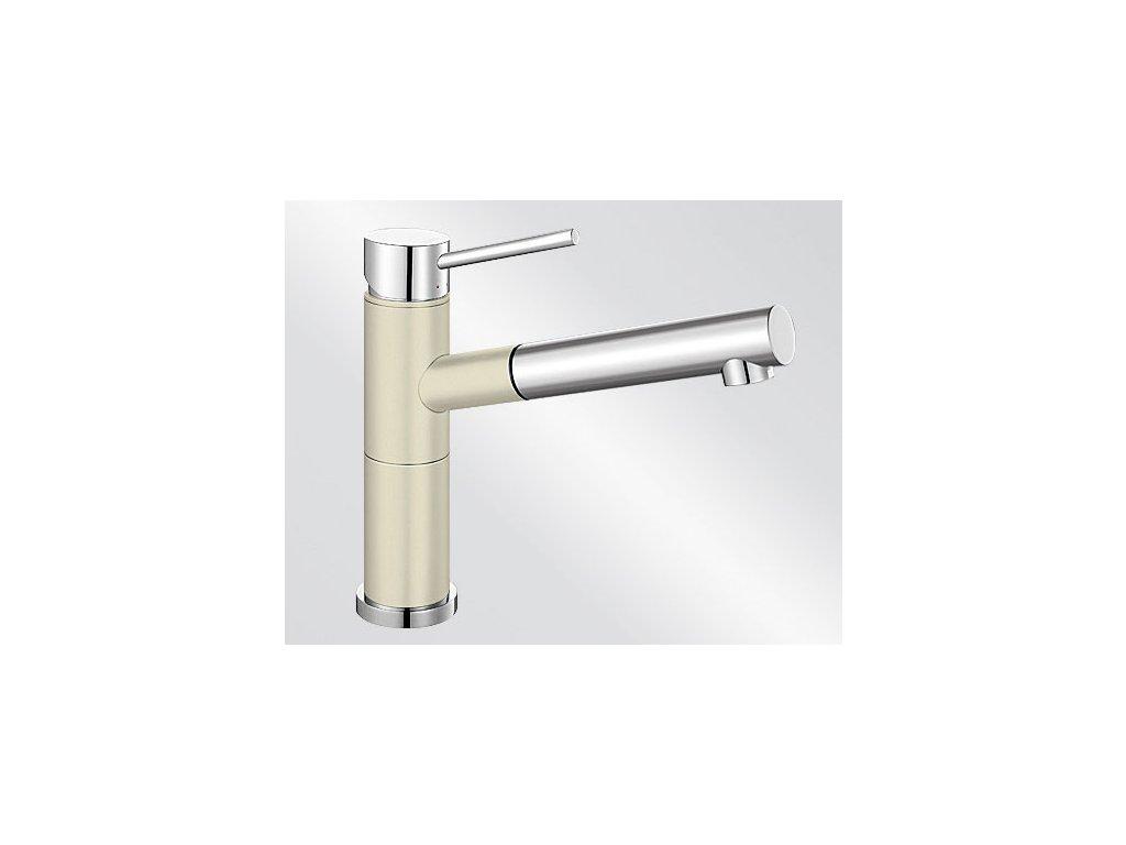 Blanco ALTA-S Compact Silgranit-look dvoubarevná jasmín/chrom