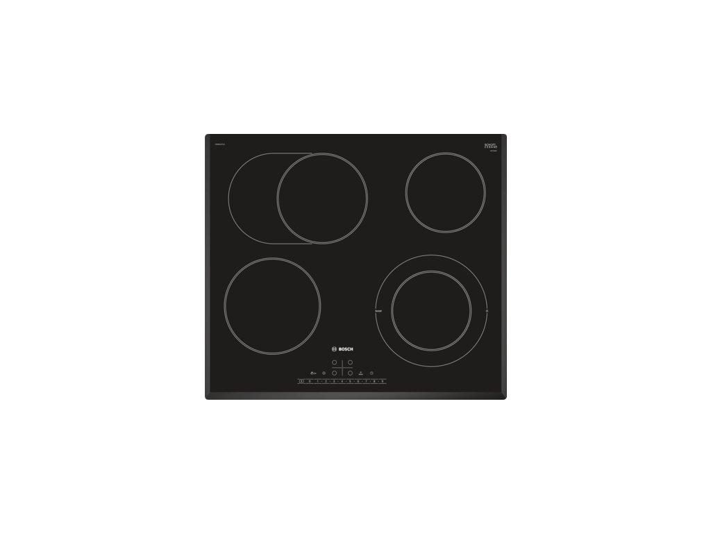 Serie | 6 Elektrická varná deska 60 cm Černá PKN651FP1E