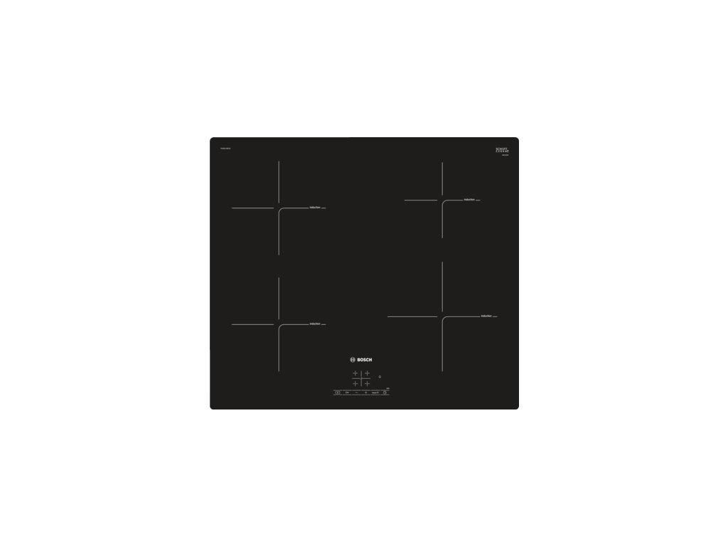 Serie   4 Indukční varná deska 60 cm Černá PUE611BF1E