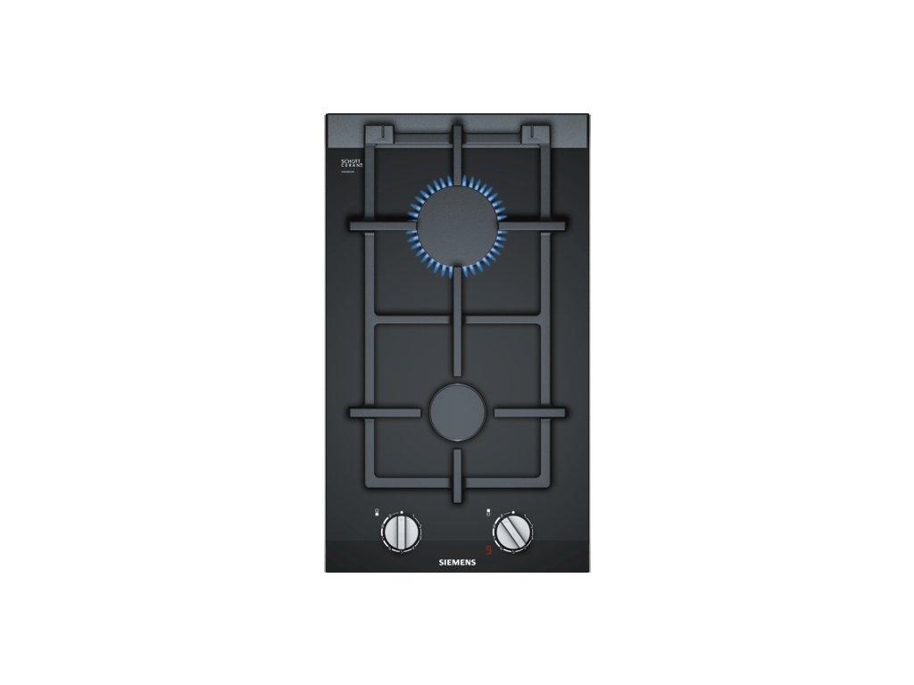 iQ700 Domino plynová varná deska 30 cm Sklokeramika, Černá ER3A6BD70