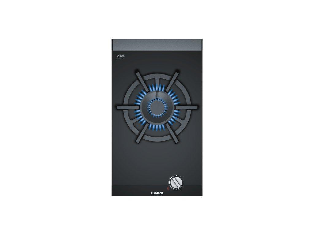 iQ700 Domino plynová varná deska 30 cm Sklokeramika, Černá ER3A6AD70