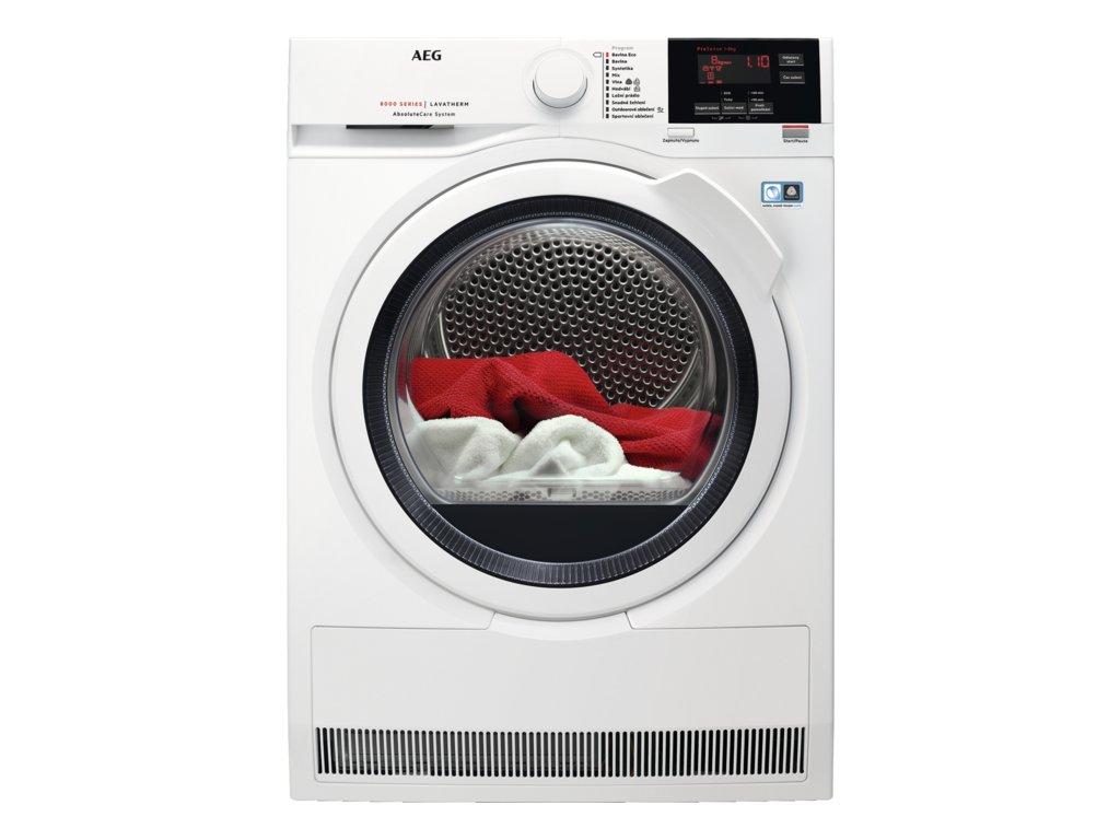 AEG, Sušička prádla AbsoluteCare T8DBG48WC