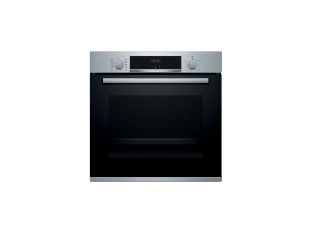 Serie | 4 Vestavná pečicí trouba 60 x 60 cm nerez HBA554BS0